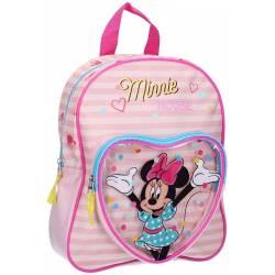 Sac à Dos Minnie Mouse Let's Party Rose -31 cm