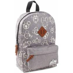 Sac à Dos Mickey Mouse 90th Anniversary Gris - 34 cm