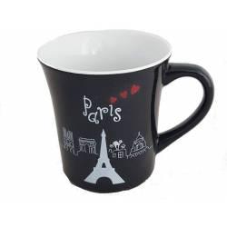 Mug en Céramique Paris - Noir