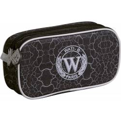 Trousse Wati B Double Compartiments Rectangulaire - 22 x 5 x 10 cm