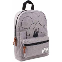Sac à Dos Mickey Mouse 90th Anniversary Gris - 33 cm