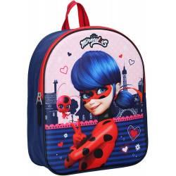 Miraculous Kinderrucksack - Ladybug - Rot und Blau 3D