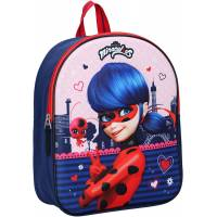 Miraculous Kids Ladybug Backpack Red 3D
