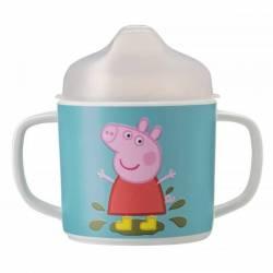 Tasse à Anses Antidérapante Peppa Pig
