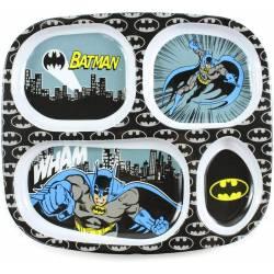 Assiette Compartiment Batman