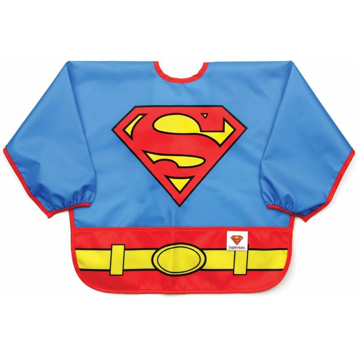 Bavoir a Manche Superman
