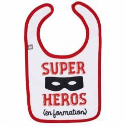 "Bavoir ""Super Héros"" BB&Co"
