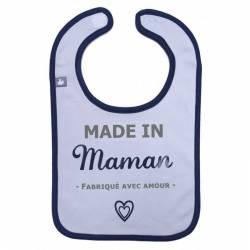 "Bavoir ""Made in maman"" BB&Co"
