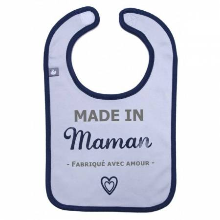 "Bavoir ""Made in maman"" BB&Co"