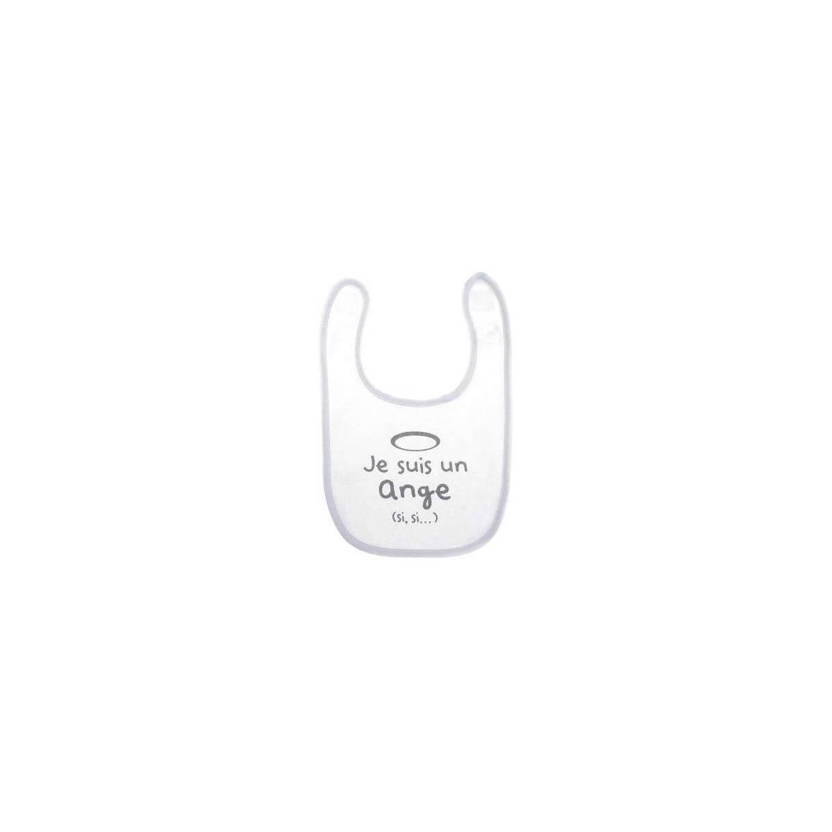 """Bavoir """"Je suis un ange"""" BB&Co"""