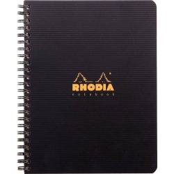 Notebook Rhodia A5+ Polypro - Petits Carreaux 160 Pages
