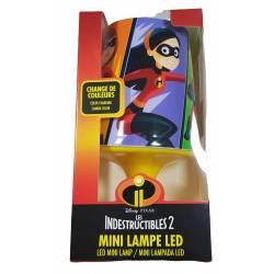 Mini lampada da comodino a LED Gli Incredibili 18 cm