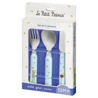 Couverts Le Petit Prince x3