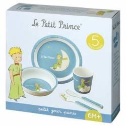 Coffret Repas Le Petit Prince Bleu 5 Pièces