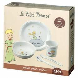 Coffret Repas Le Petit Prince Blanc 5 Pièces