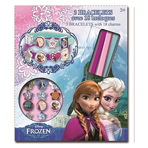 Frozen bracelet avec breloques reine des neiges - Anna elsa reine des neiges ...