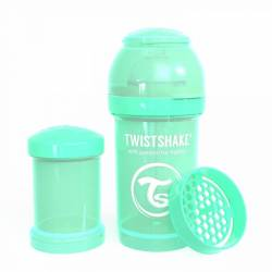 Baby Bottle Twistshake Green