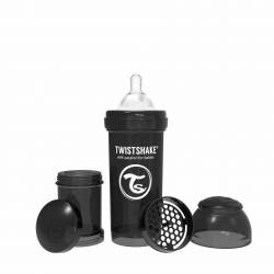 Baby Bottle Twistshake Black