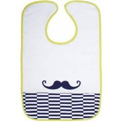 Bavoir Moustache Babycalin 18 mois +