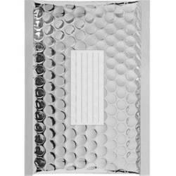 100 Enveloppes à Bulles Couleur Silver -210X150 mm - C/0