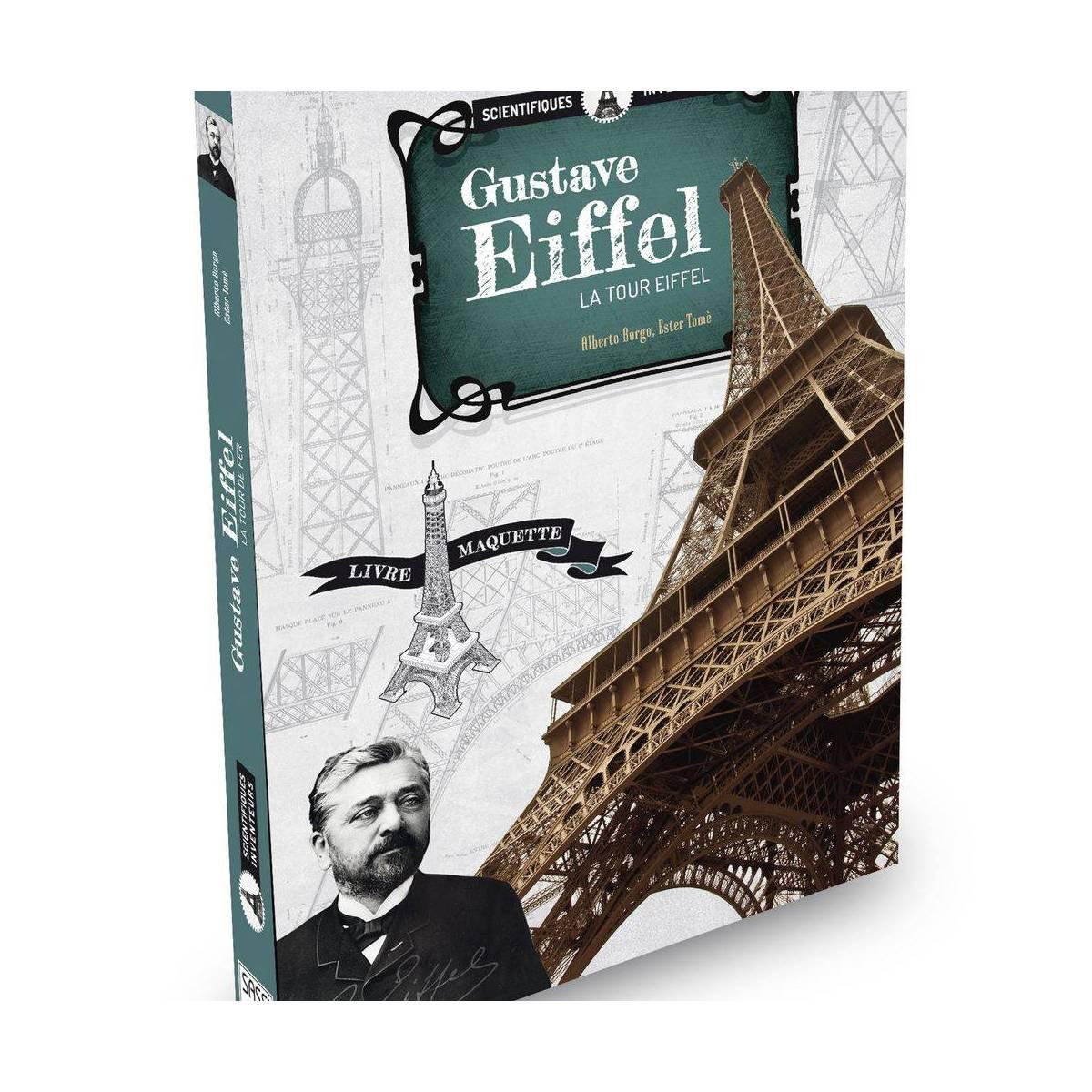 Livre et Maquette Sassi Gustave Eiffel - La Tour Eiffel