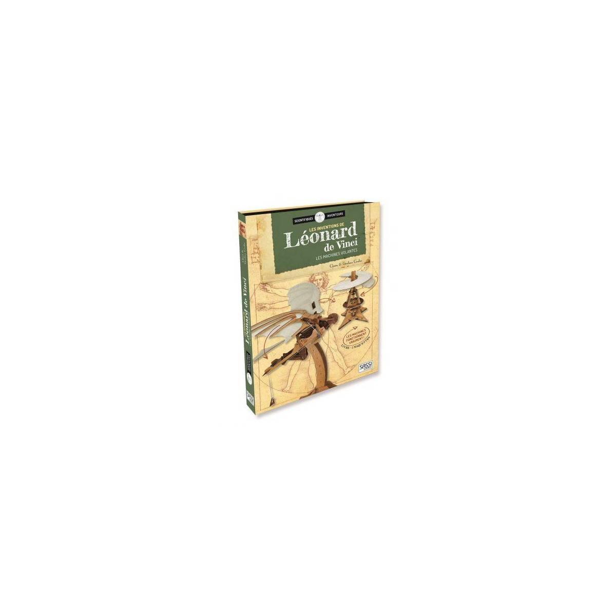 Livre et Maquette Sassi Les Leonard de Vinci - Les Machines Volantes