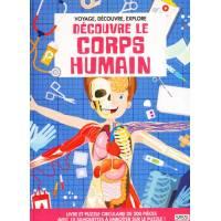 Livre et Puzzle Sassi Découvre le Corps Humain