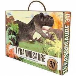 Livre et Maquette 3D Sassi Le Tyrannosaure