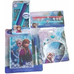 Paris Stock Pack Cadeaux La Reine de Neiges pour Fille idéal pour Anniversaire : Couronne, Bracelets, Carnet Secret + Stylo