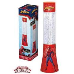 Lampe à Paillettes Spider Man 34 cm