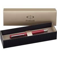 Parker Vector Spécial Stylo plume Pointe Moyenne Attributs Chromés Rouge