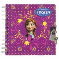 Carnet secret + Stylo La Reine des Neiges