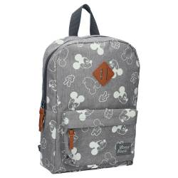 Sac à Dos Mickey Mouse All Together Gris - 34 cm