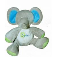 Peluche Éléphant Lola Bleu 20 cm