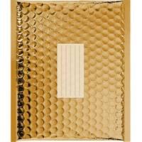 100 Enveloppes à Bulles Matelassées Métalisées -360 X 270 mm - H/5 - PRO (Gold)