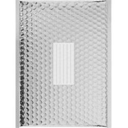 100 Enveloppes à Bulles Matelassées Métalisées -360 X 270 mm - H/5 - PRO (Silver)