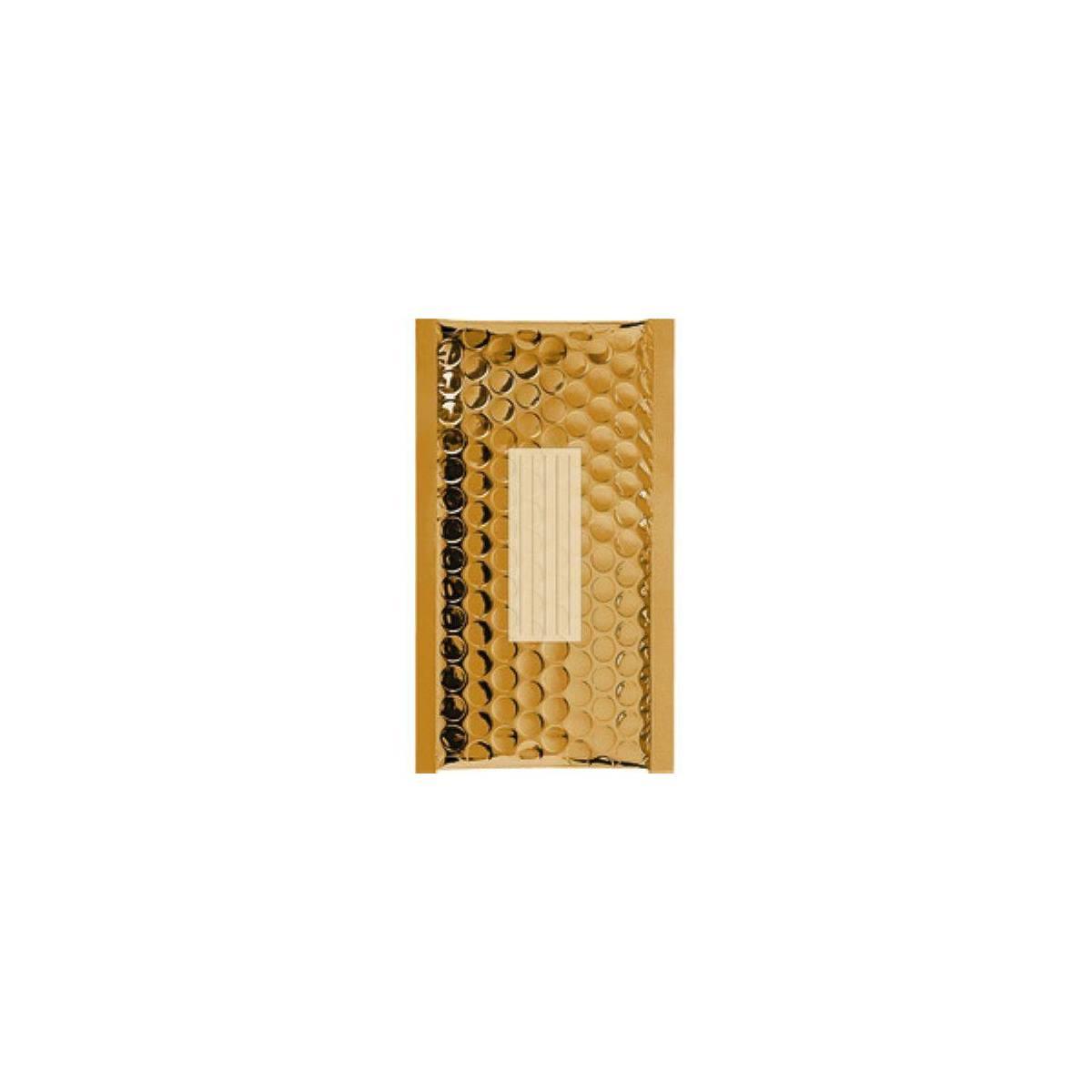 100 Enveloppes Bulles Métalisées PRO B/00-210 x 120 mm Premium (Gold)