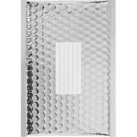 50 Enveloppes à Bulles Métallisées Couleur Argent - 210X150 mm - C/0