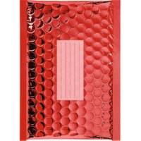 100 Enveloppes à Bulles Métalisées - 210X150 mm - C/0 - Qualité Premium (Red)