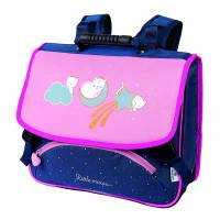 Cartable 38 cm Chaton Lune Oberthur