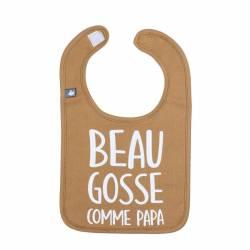 """Bavoir """"Beau gosse comme papa"""" Camel BB&Co"""