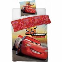 Housse de Couette Cars 140 x 200 cm Lightning + Taie d'Oreiller 63 x 63 cm