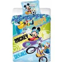Housse de Couette Mickey 140 x 200 cm Goofy + Taie d'Oreiller 63 x 63 cm