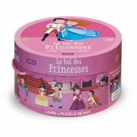 Livre et Puzzle Géant Sassi Le Bal des Princesses