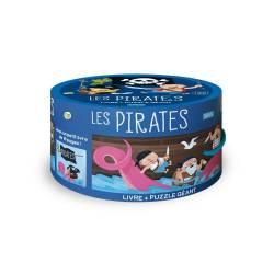 Livre et Puzzle Géant Sassi Les Pirates