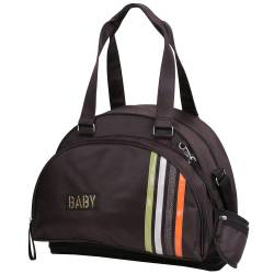 Babycalin - Sac à Langer Shopping Marron - 40 x 20 x 33 cm