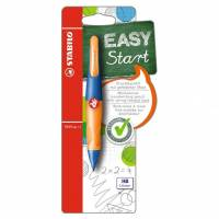 Porte-Mine Ergonomique STABILO EASY START HB 1.4 mm - Orange/Bleu