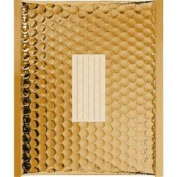 100 Enveloppes à bulles Métalisées Noir - 470 X 350 mm - K/7 - Fermeture Adhesive - Office Depot (Gold)
