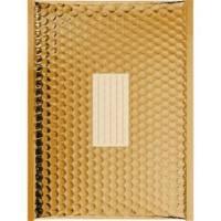 100 Enveloppes à Bulles Métalisées PRO - 260X180 mm - D/1 -Gold