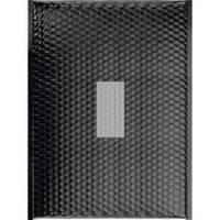 100 Enveloppes à bulles Métalisées Noir - 470 X 350 mm - K/7 - Fermeture Adhesive - Office Depot (Noir)